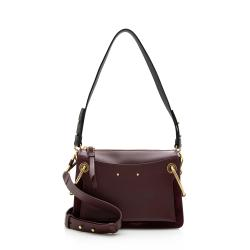 Chloe Leather Suede Roy Small Shoulder Bag