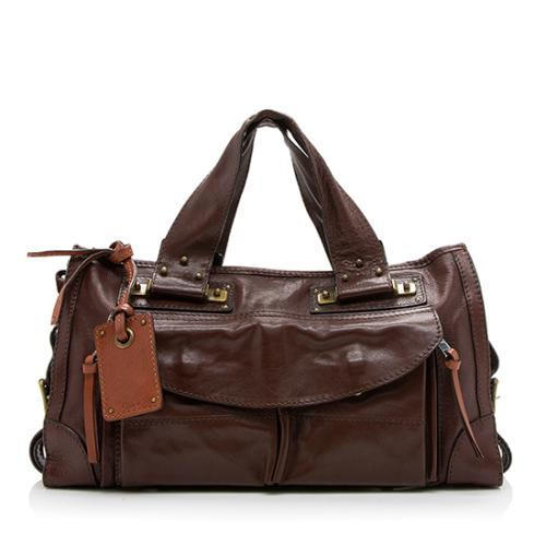 Chloe Leather Tracy Tote