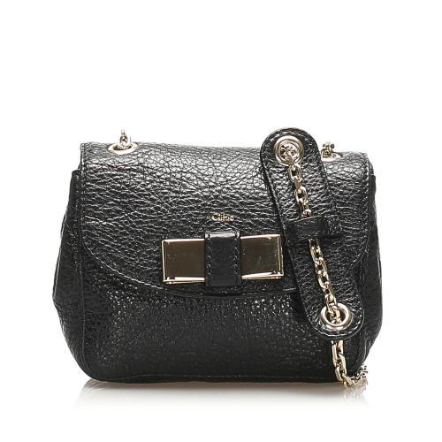 Chloe Lily Leather Crossbody Bag