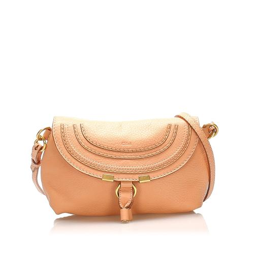 Chloe Marcie Leather Crossbody Bag