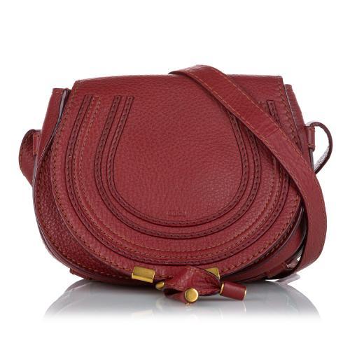 Chloe Marcie Leather Crossbody Bag
