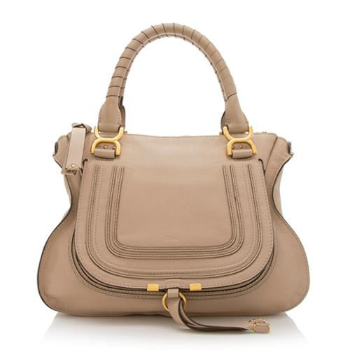 Chloe Leather Marcie Medium Satchel