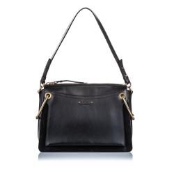 Chloe Leather Medium Roy Satchel