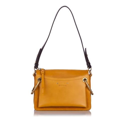 Chloe Leather Medium Roy Shoulder Bag