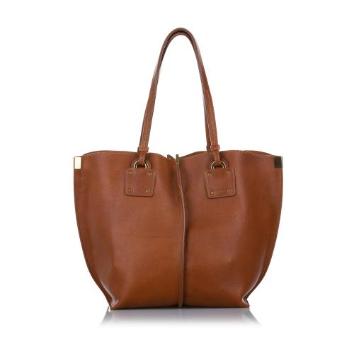 Chloe Medium Vick Leather Tote Bag