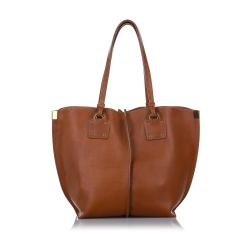 Chloe Medium Vick Leather Tote Bag
