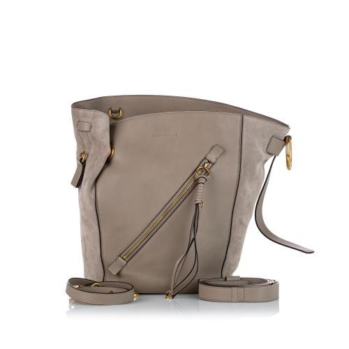 Chloe Myer Leather Bucket Bag