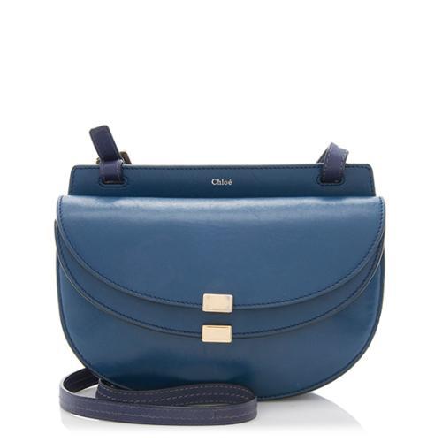 Chloe Nappa Leather Georgia Mini Shoulder Bag