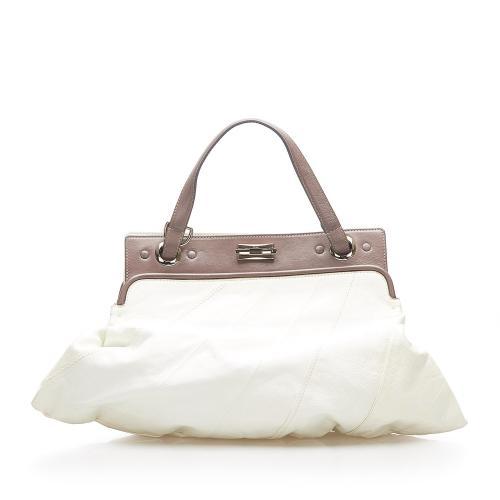 Chloe Odessa Leather Satchel
