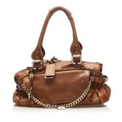 Chloe Paddington Capsule Leather Shoulder Bag