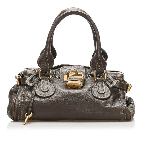 Chloe Paddington Leather Handbag