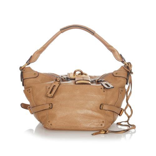 Chloe Paddington Leather Shoulder Bag
