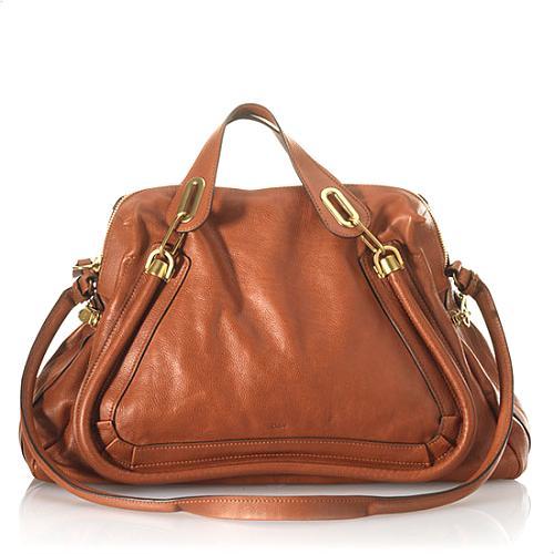 Chloe Paraty Large Satchel Handbag