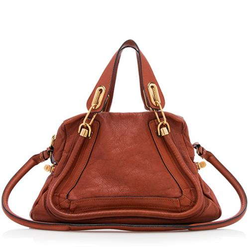 Chloe Leather Paraty Medium Satchel