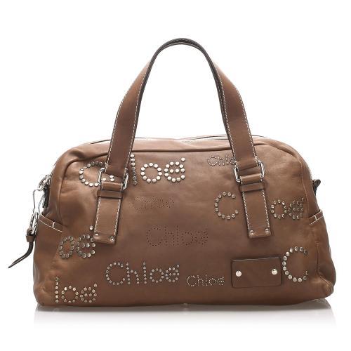 Chloe Patsy Leather Shoulder Bag