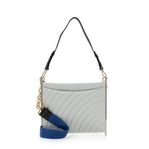 Chloe Quilted Leather Roy Shoulder Bag