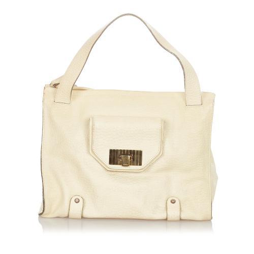 Chloe Sally Leather Shoulder Bag