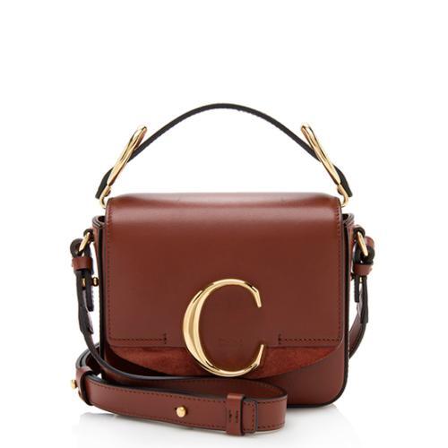 Chloe Shiny Calfskin C Mini Bag