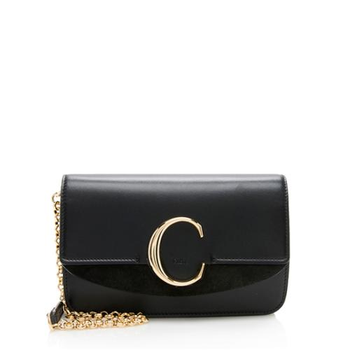 Chloe Shiny Calfskin Mini C Bag
