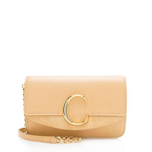 Chloe Shiny Calfskin Mini C Bag
