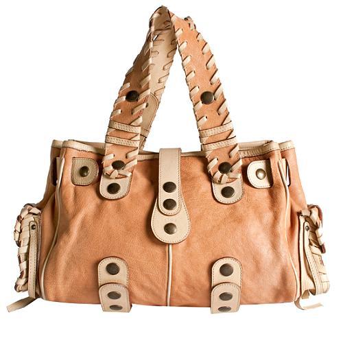 Chloe Silverado Doctors Satchel Handbag