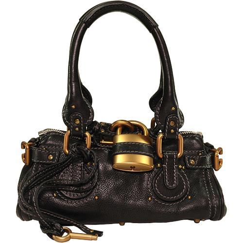 Chloe Small Paddington Satchel Handbag