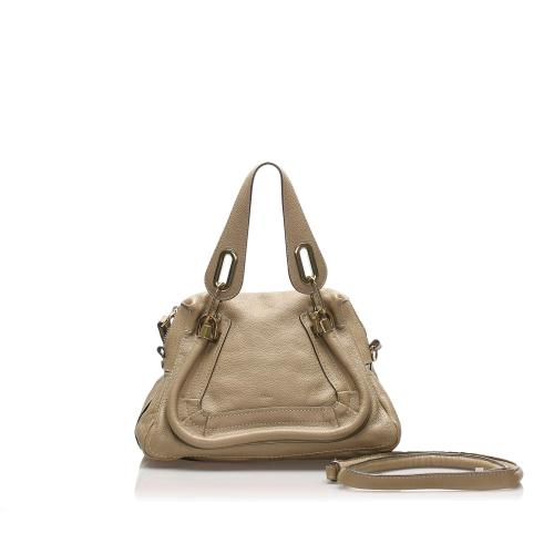 Chloe Small Paraty Leather Satchel