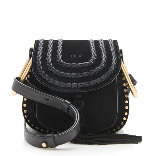 Chloe Suede Hudson Mini Crossbody Bag