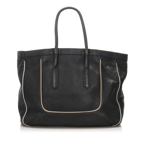 Chloe Leather T Tote