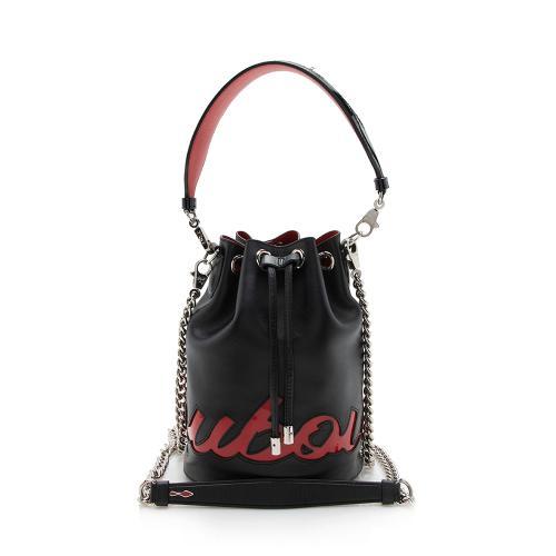 Christian Louboutin Calfskin Marie Jane Large Bucket Bag