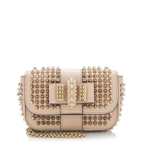 facf7c0c301 Christian-Louboutin-Calfskin-Spiked-Sweet-Charity-Small-Crossbody -Bag 93778 front large 0.jpg
