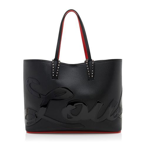 Christian Louboutin Leather Cabata Logo Tote