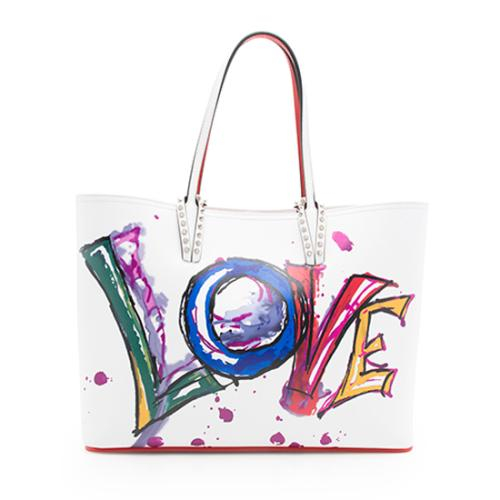 c4980841293 Christian Louboutin Leather Cabata Love Tote