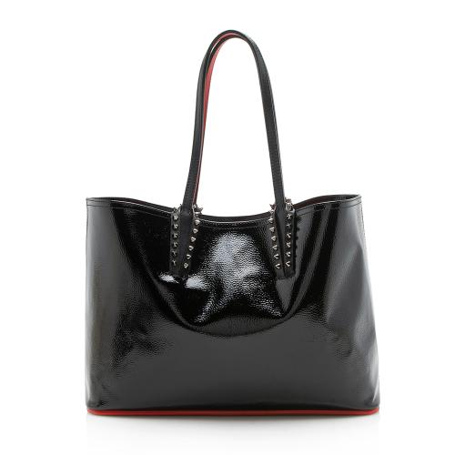 Christian Louboutin Patent Leather Cabata Small Tote