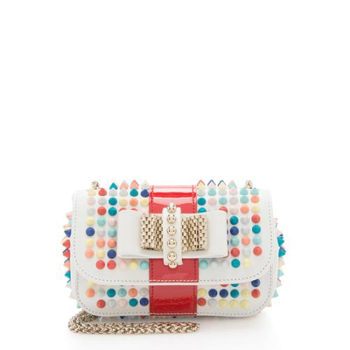 0e1115d8e0f Christian Louboutin Sweet Charity Small Spiked Crossbody Bag