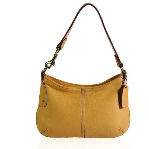 Caoch Leather Demi Hobo Handbag