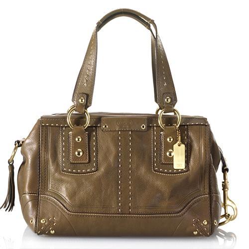 Coach Andrea Satchel Handbag