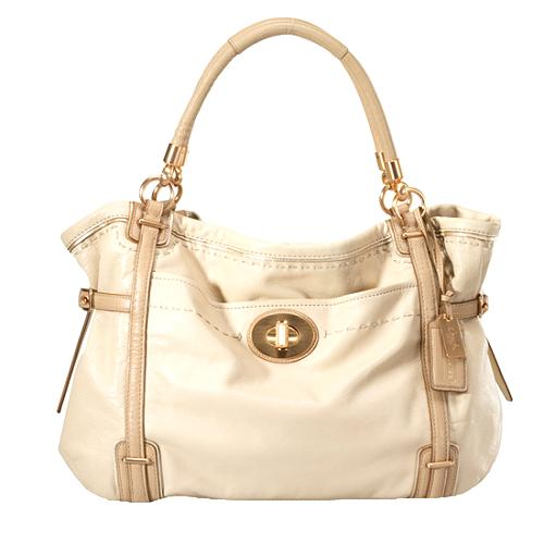 Coach Audrey Leather East/West Tote