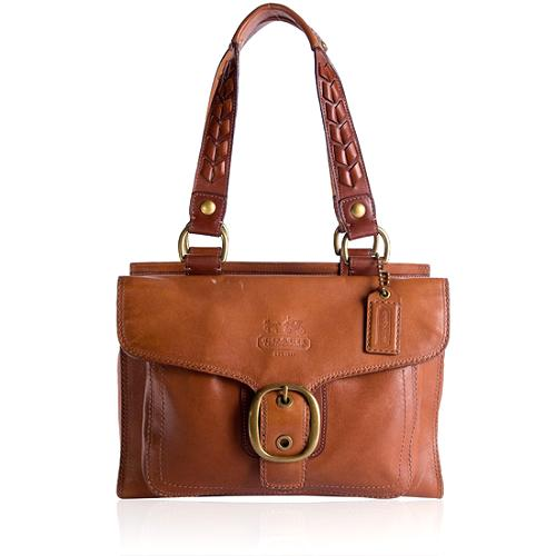 Coach Bleecker Large Leather Shopper Tote