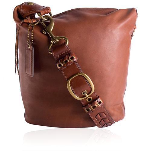 Coach Bleecker Leather Large Duffel Handbag