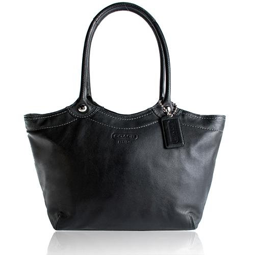 Coach Bleecker Leather Legacy Tote