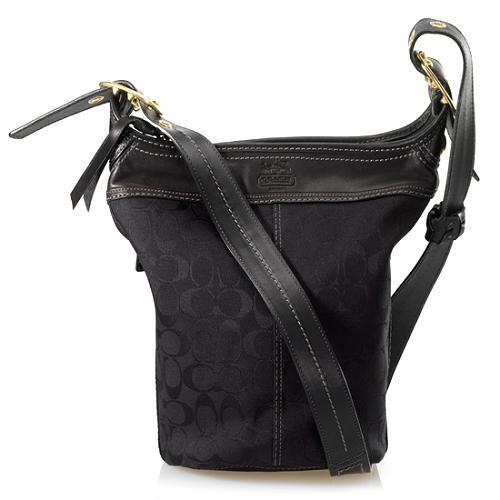 Coach Bleecker Signature Duffel Shoulder Handbag