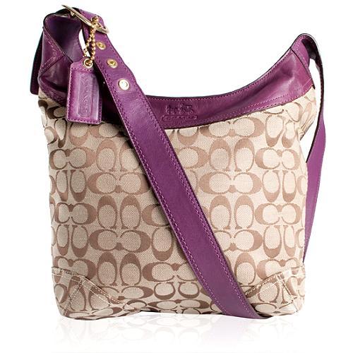 Coach Bleecker Signature Sophie Shoulder Handbag