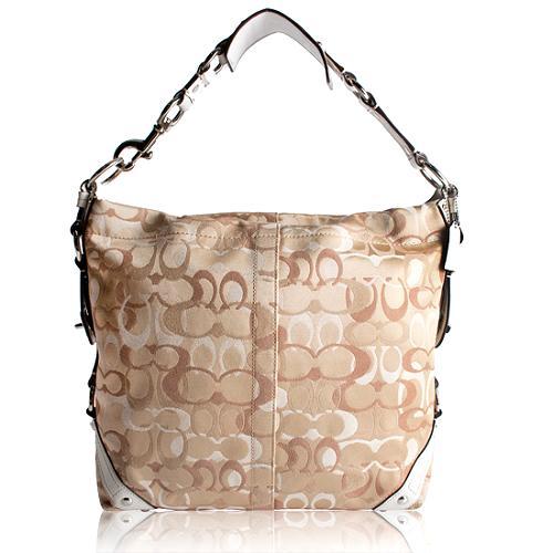 Coach Carly Optic Large Hobo Handbag