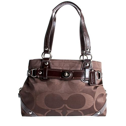 Coach Carly Signature Carryall Tote