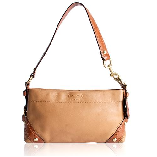 Coach Carly Small Leather Shoulder Handbag