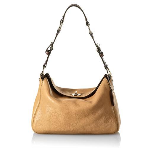 Coach Chelasea Pebbled Leather Hobo Handbag - FINAL SALE