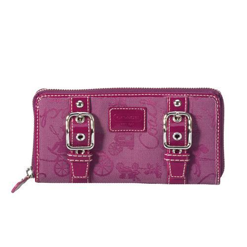 Coach Chelsea Buckle Zip Around Wallet