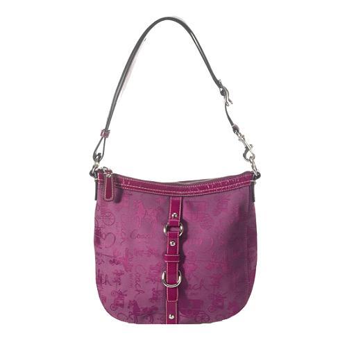Coach Chelsea Horse & Carriage Duffel Shoulder Handbag