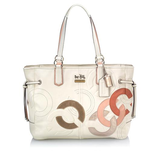 Coach Chelsea Leather Charlie Tote